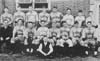 From the 1937 Crest, John M. Vogt High School's 1937 baseball team.